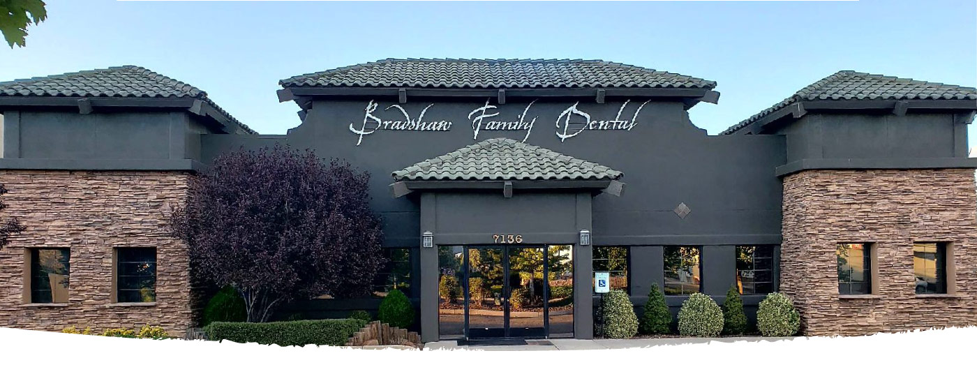 Bradshaw family dental banner